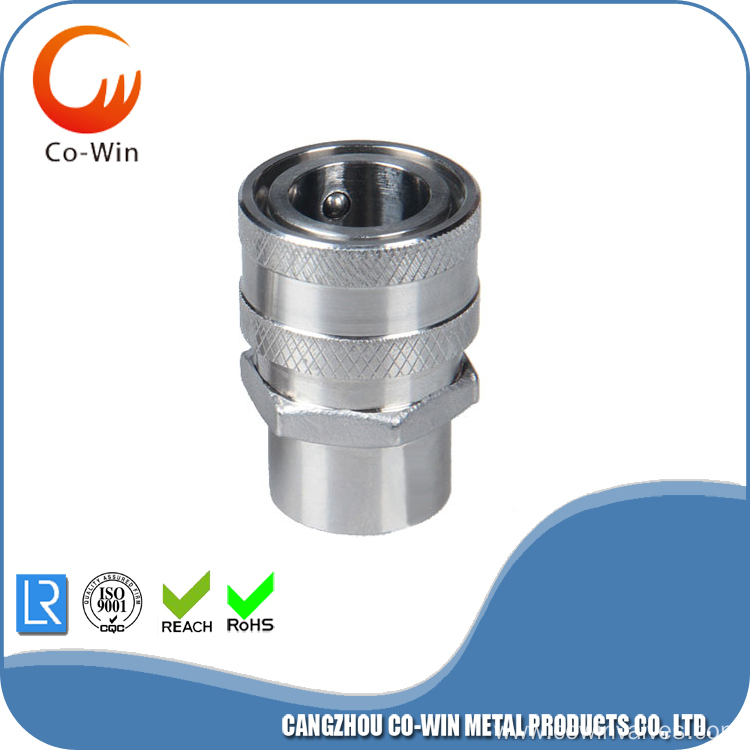 Investment casting Thread Female quickly disconnect