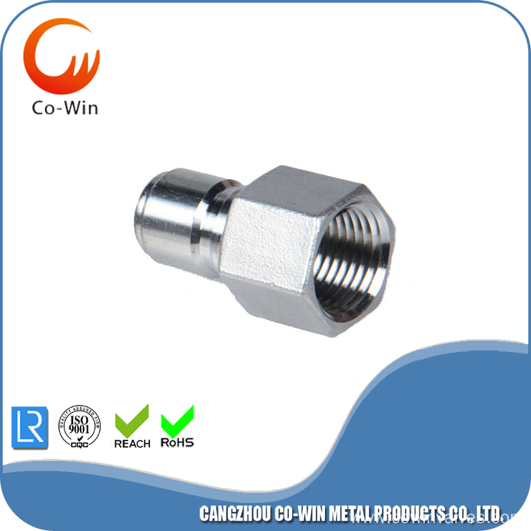 acero inoxidable QuickDisconnect enchufe masculino hembra NPT