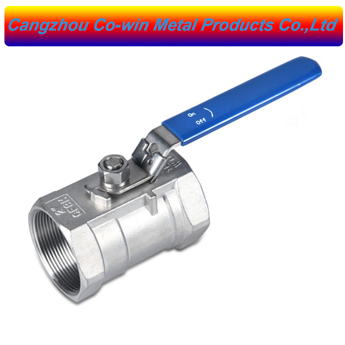stainless steel screw manual ball valve