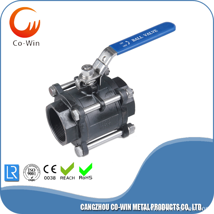 Three Piece Ball Valve WCB Featured Image