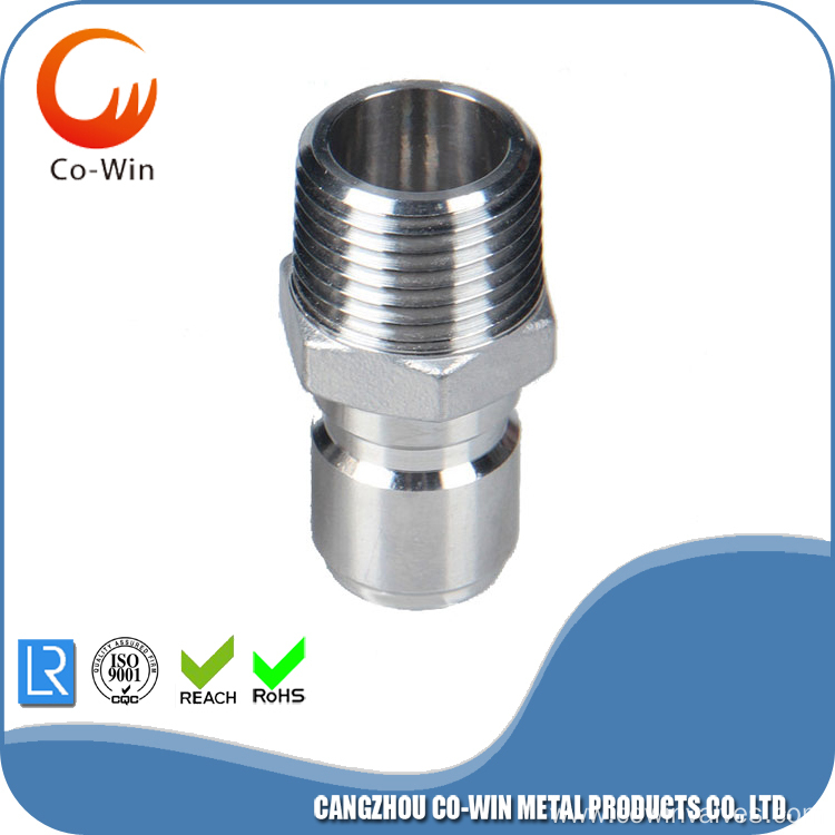 Investment Casting Quick Disconnect Plug Male Featured Image