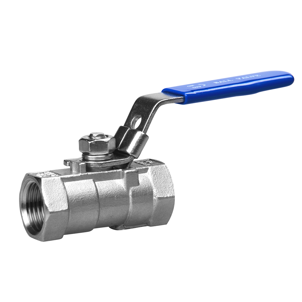 1PC Ball Valve 1000WOG casting stainless steel valves