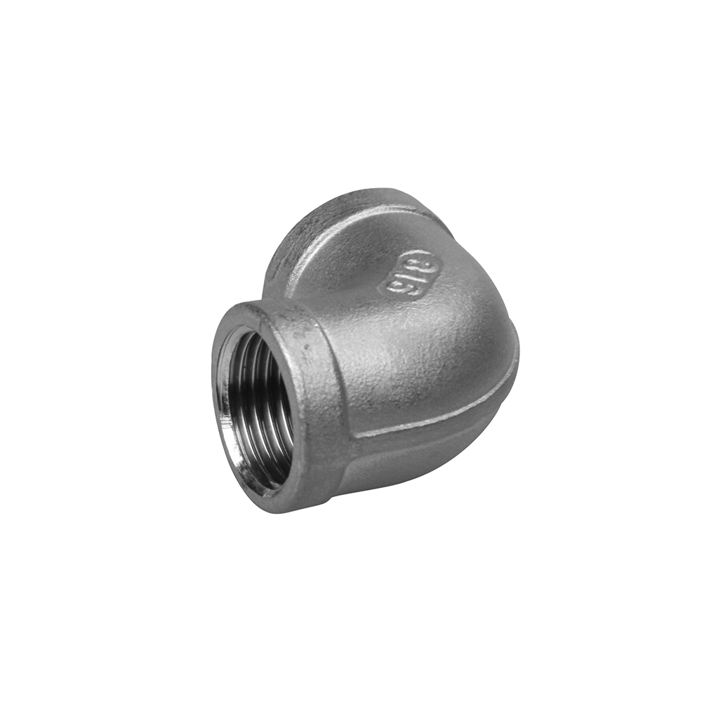 stainless steel fittings elbow 90 degree screw fittings