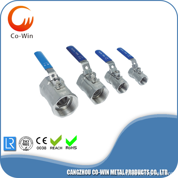 Silicon Sol Casting 2PC Valves