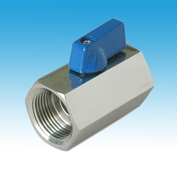 Stainless Steel Mini Ball Valve FxF NPT