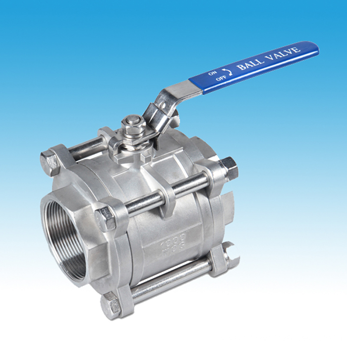 Stainless Steel 3PC Full Port Ball Valve