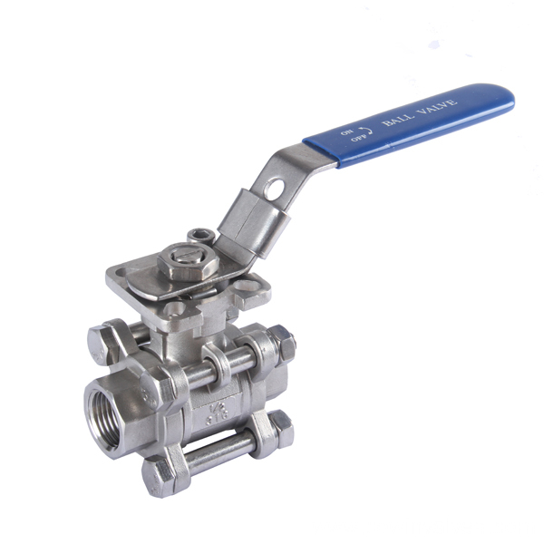 Casting Mounting Pad 3PC Ball Valve