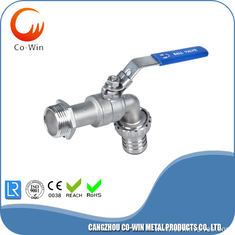 Hose Tap Ball Valve Stainless Steel