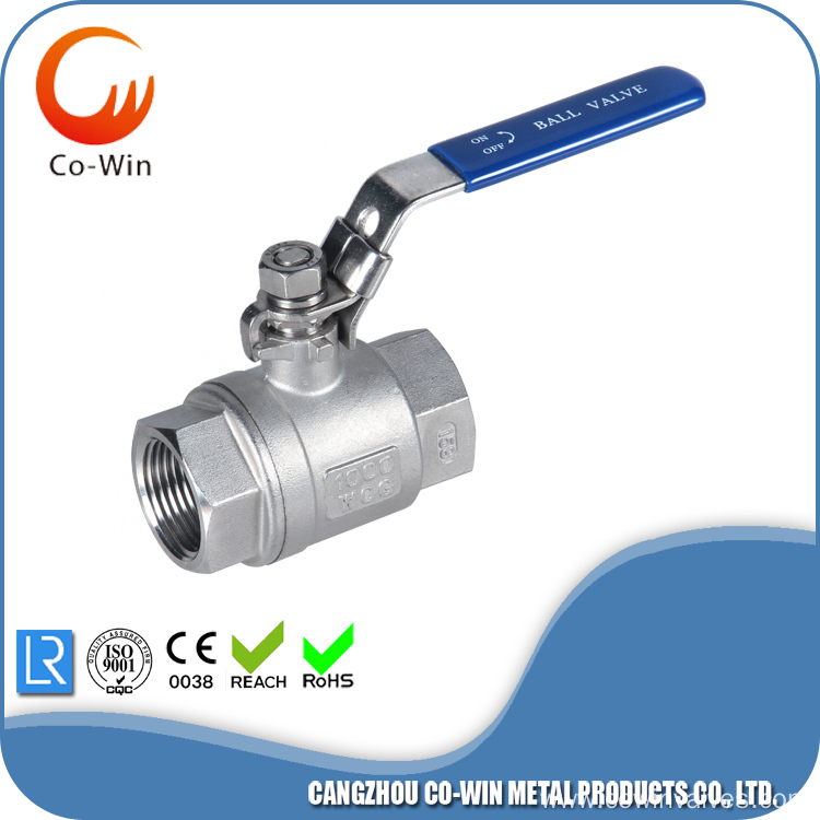 SS Casting 2PC Ball Valve Body Price