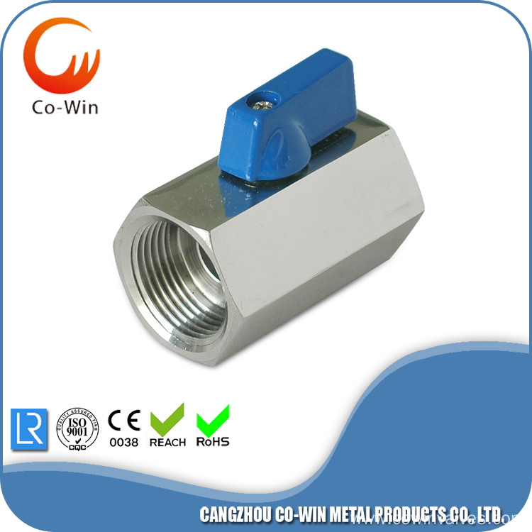 Mini Ball Valve F/F SS304/316