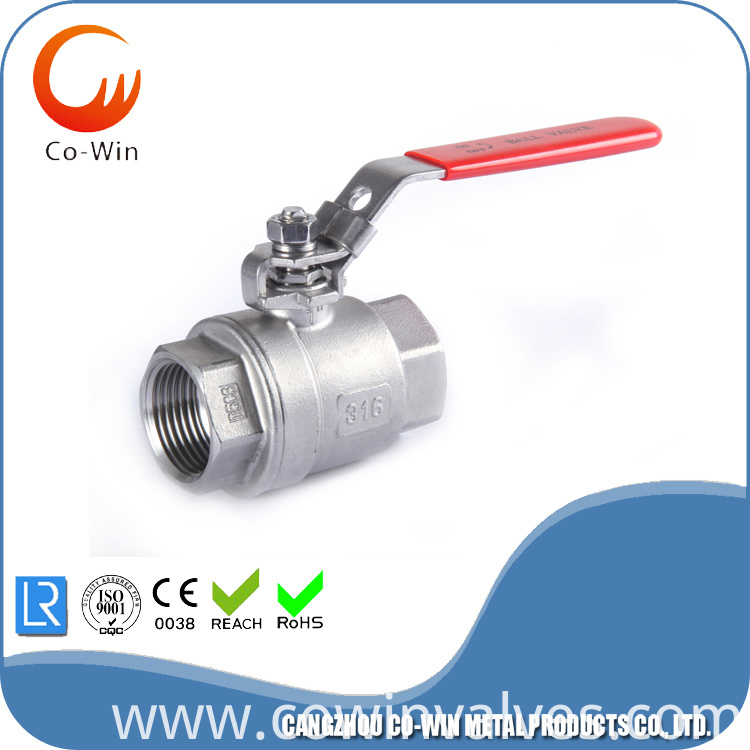 S.S 304 2 PC Ball Valve Featured Image