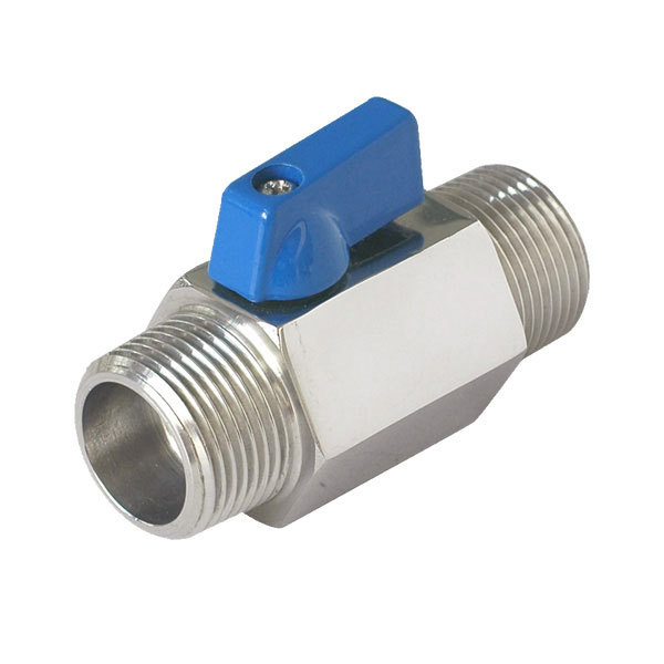 Male/Male Full Port Mini Ball Valve