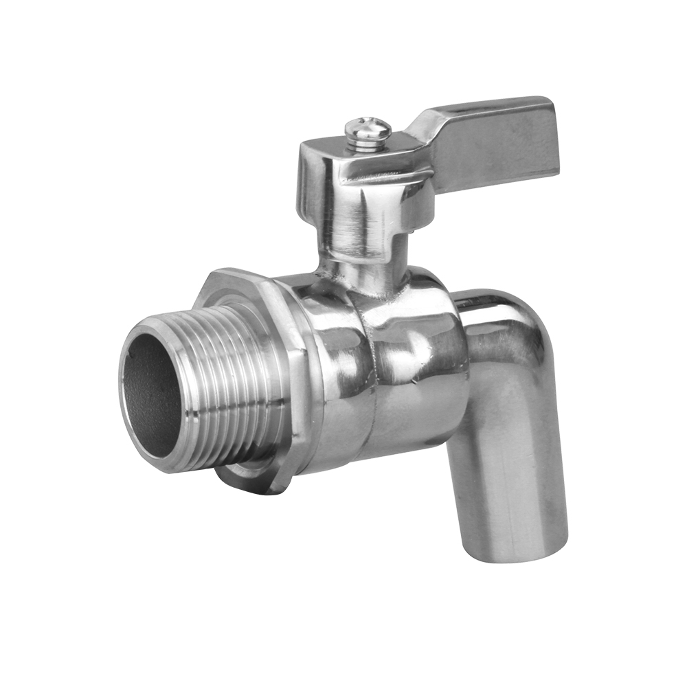 stainless steel male valve casting drain tap 1/2 INCH