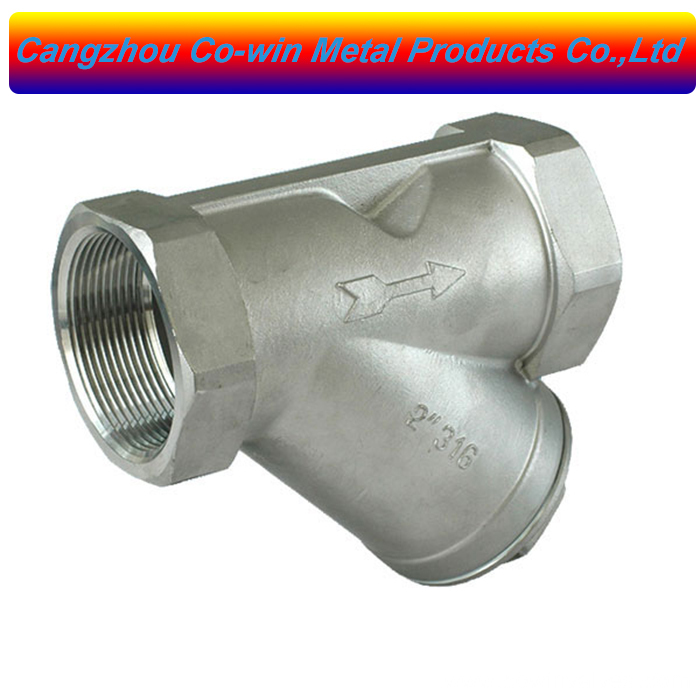 professional factory for Hex End Cap - Silicon Sol Casting Y Check Valve – Co-win
