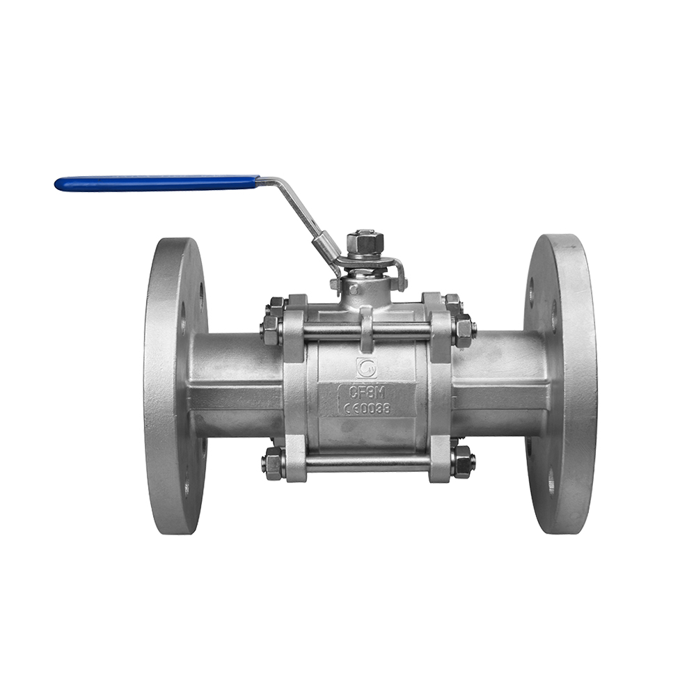 ATEX 3 pc flange ball valve manual