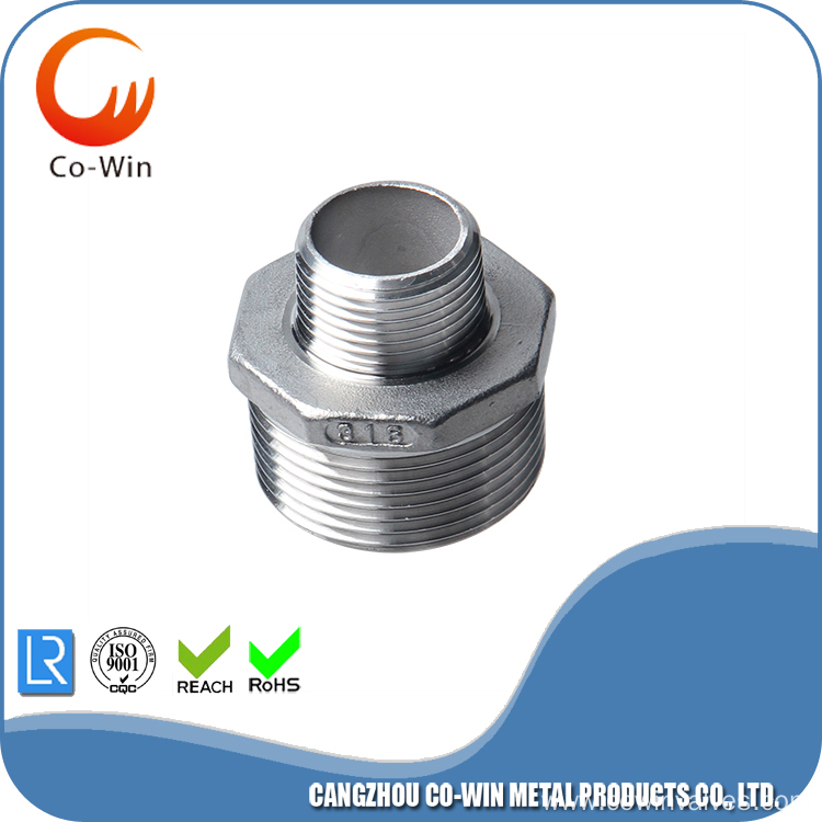 Silicon Sol Casting Reduce Hex Nipple