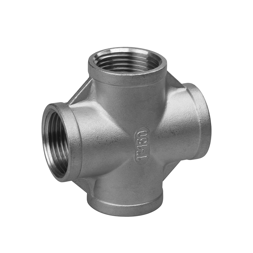 Casting stainless fittings cross 150lbs