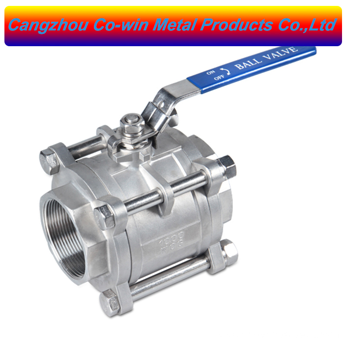 Silicon Sol Casting 3PC Ball Valves