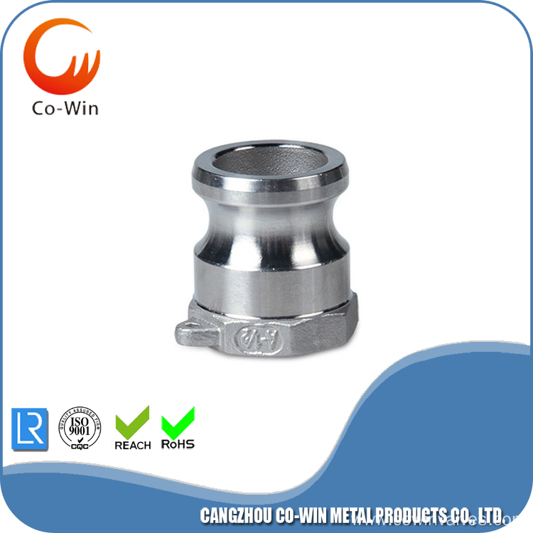 316 stainless steel Male Camlock Tubo NPT