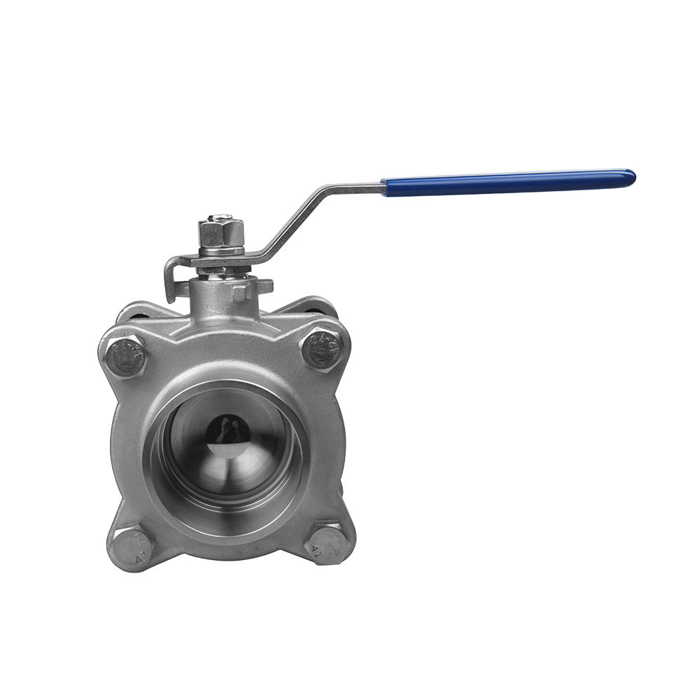 3 pc flange ball valves high quality casting