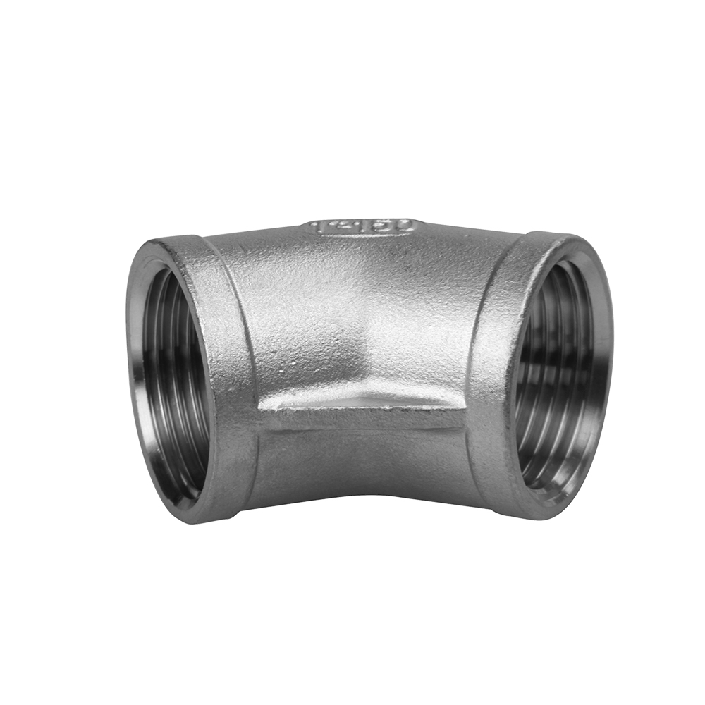 Industry fitings stainless steel elbow 45 degree