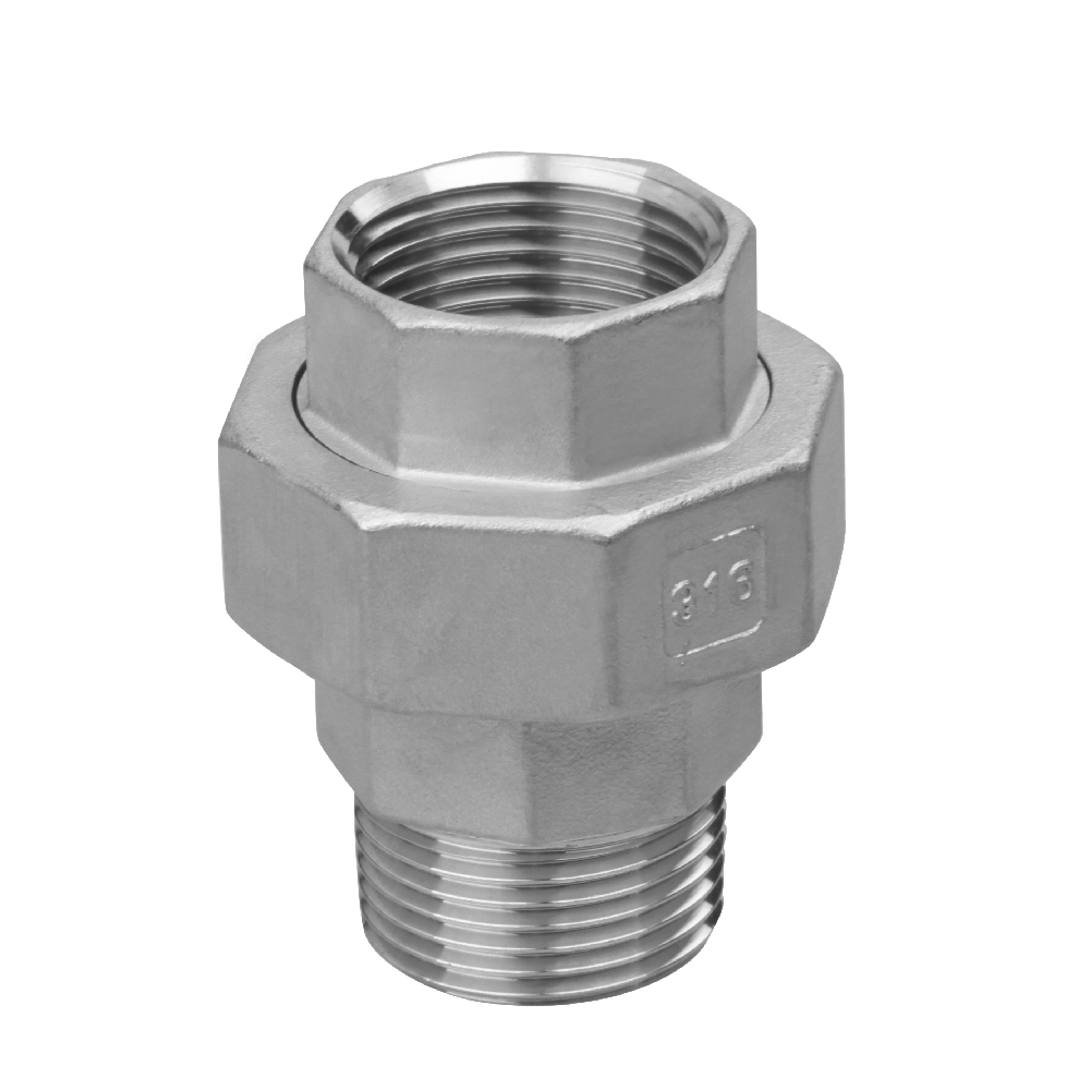 stainless steel fittings union male and female thread
