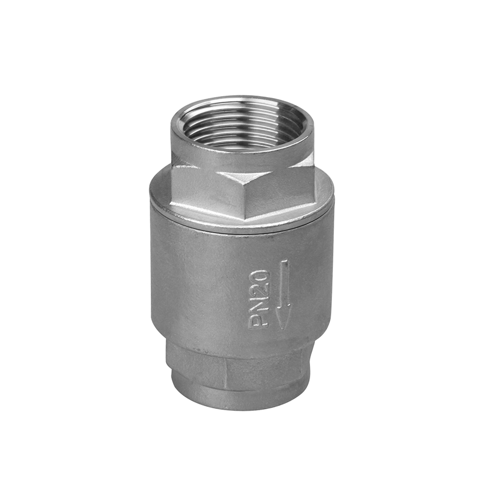 stainless steel 1000 wog ball valve 2PC check valve
