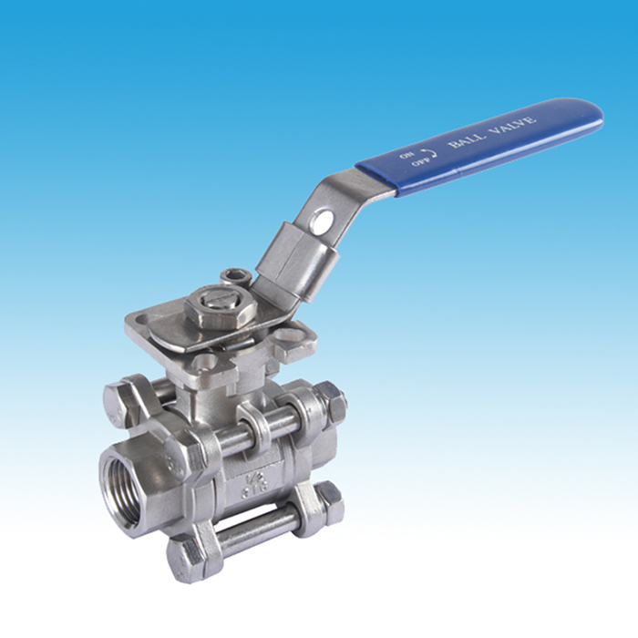 Mounting Pad Full Port 3PC Ball Valve Featured Image