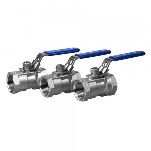 stainless steel 1PC ball valves 800WOG