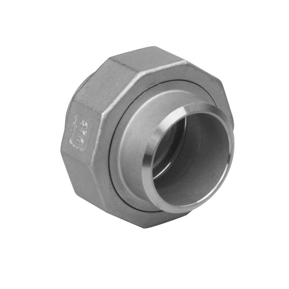 stainless steel casting fitting union butt welding
