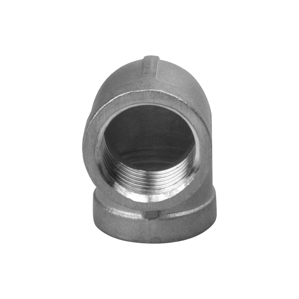 stainless steel threaded pipe fittings  ELBOW 90 DEGREE