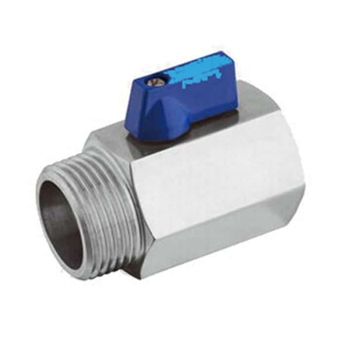 Mini Ball Valve NPT Thread (1/2 Female&Male)