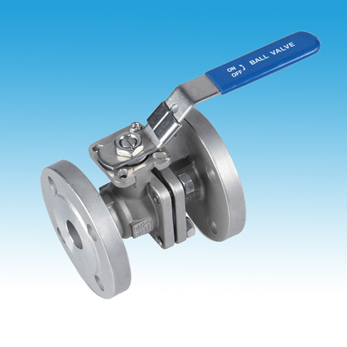 Stainless Steel 2PC Flanged Ball Valves
