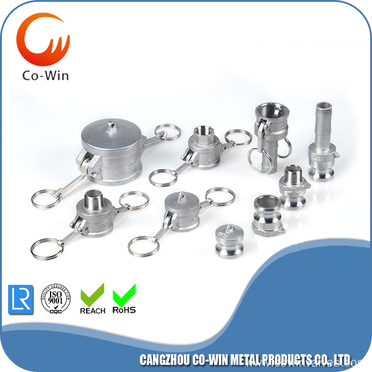 Camlock Stainless Steel Type E