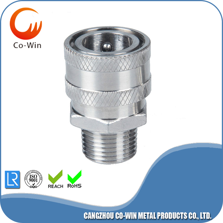 Quick Coupler Socket / 1/2 Inch Male ss