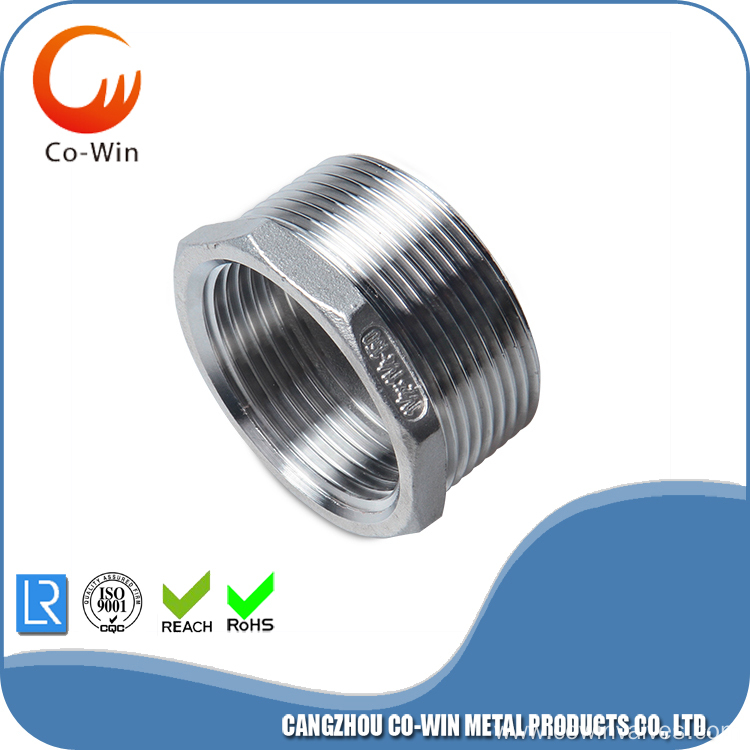 Silicon Casting 304/316 Hex Bushing