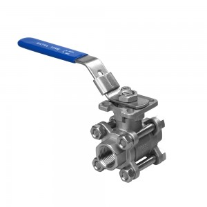 ball valve with mount pad