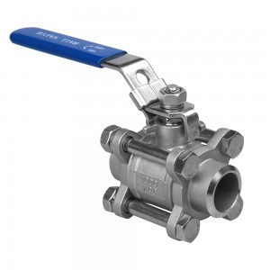 butt welding ball valve