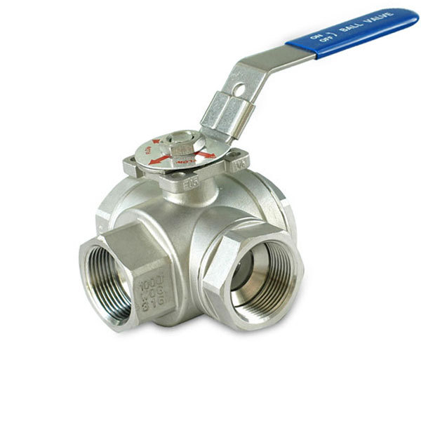 Precision Casting 3Way Mounting Pad Ball Valve Featured Image