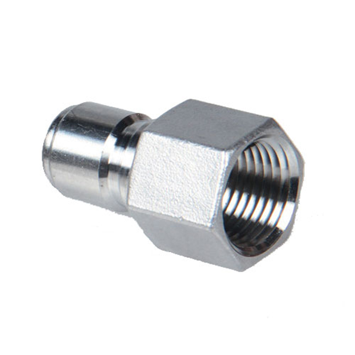 Stainless Steel Quick Disconnect Female Plug