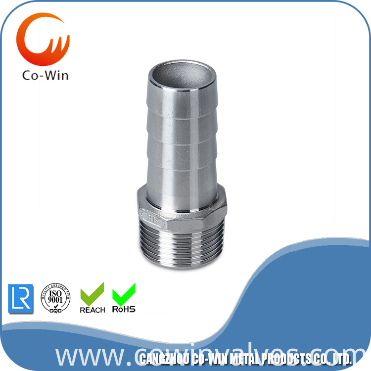 Investment Casting CF8/CF8M Hose Nipple