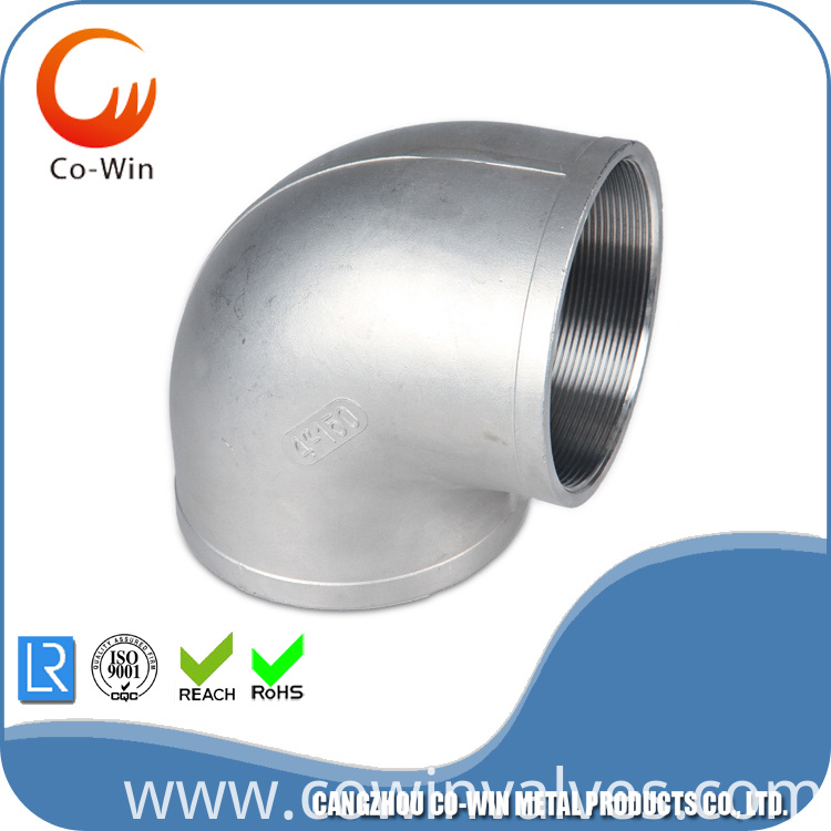stainless steel bsp elbow fittings