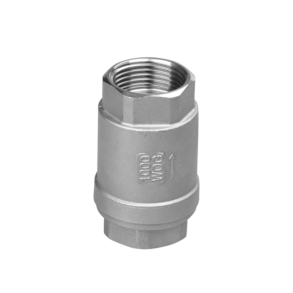 stainless steel motorized 2PC check valve