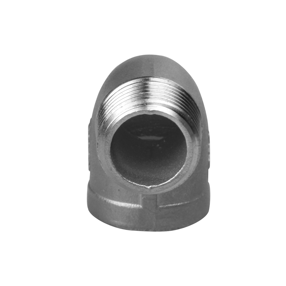 stainless steel casting fitting street elbow 90