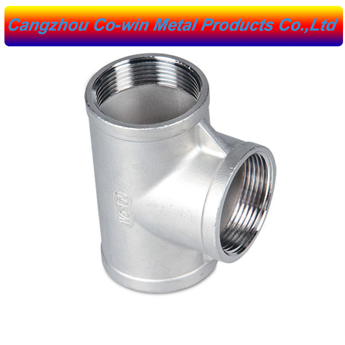 Stainless Steel Cast Pipe Fitting Tee Class 150