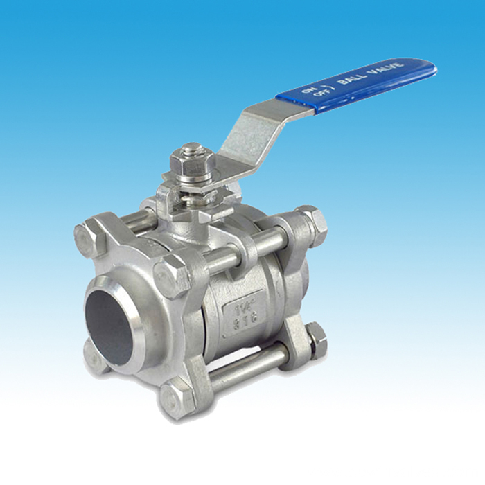 Inox 3PC Ball Valve