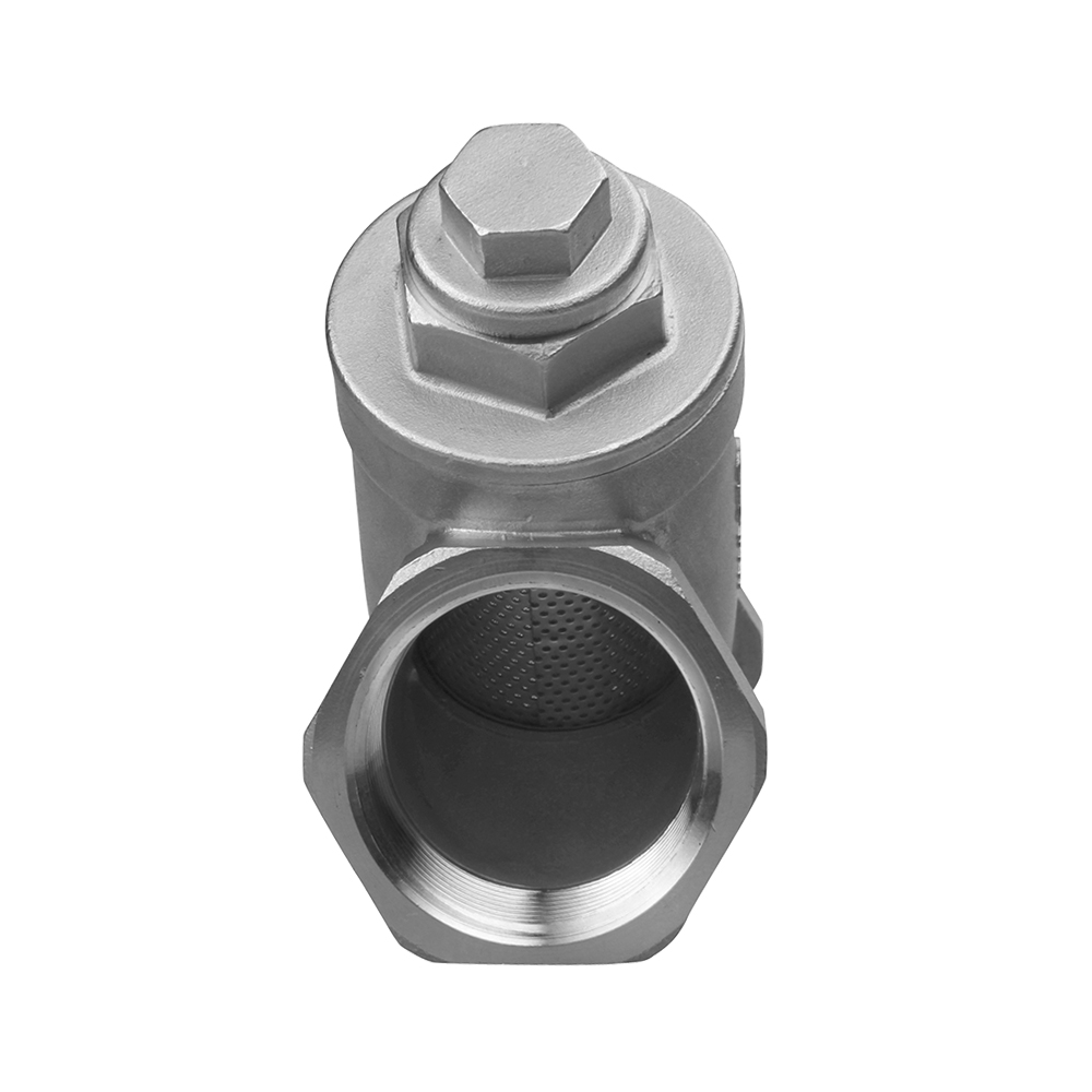 Y type Strainer ball valve stainless steel 304