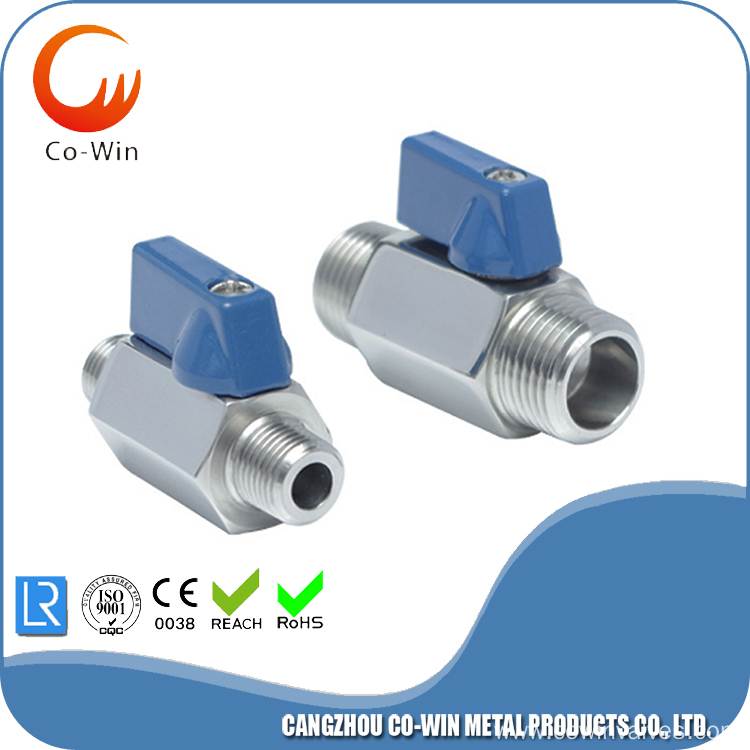 Silicon Sol Casting M/M Mini Ball Valve