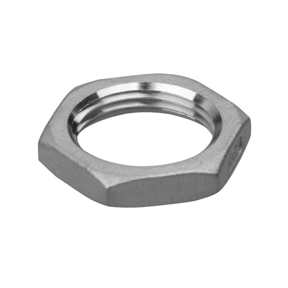 stainless steel fitting hex back nut 304