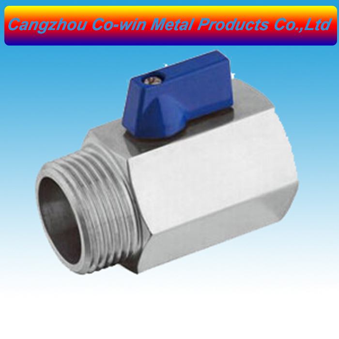 1/2inch Stainless Steel (316) Mini Ball Valve – FxM NPT Featured Image
